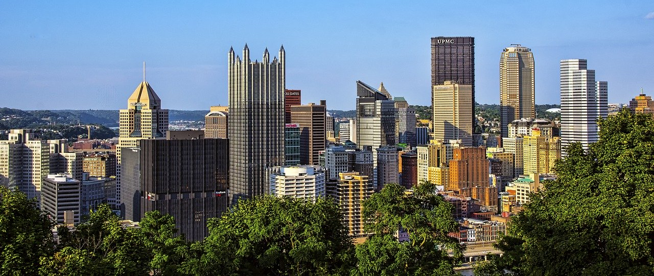 pittsburgh, city, downtown, in Aliquippa