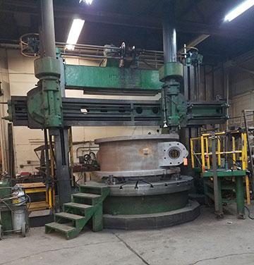 Industrial valves machine shop