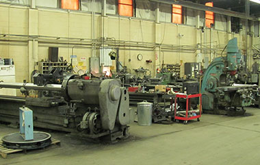 Machine Shop Industrial Valves